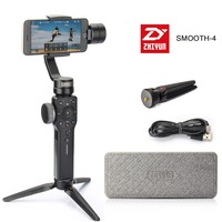 Pre Sale Zhiyun Smooth 4 3 Axis Focus Pull Zoom Capability Handheld Gimbal Stabilizer For IPhone