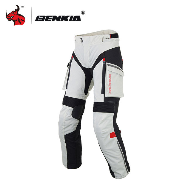 BENKIA Men Motorcycle Pants Winter Rally Pants With Detachable Warm Liner Off Road Motocross Trousers Pantalon Moto S-XXXXL 1