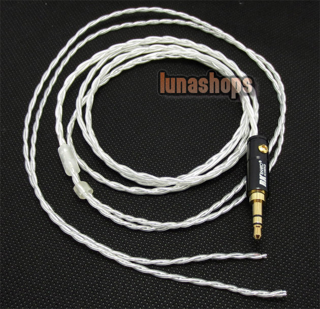 Handmade OFC + Silver Plated updated Cable for Sennheiser Shure UE Westone earphone Headset