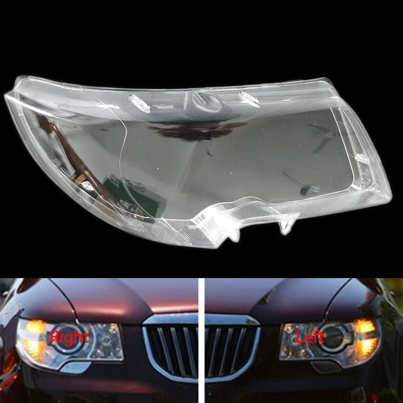 for Skoda superb 2009 2012 headlights cover headlights shell mask boutique transparent cover lampshdade headlamp shell