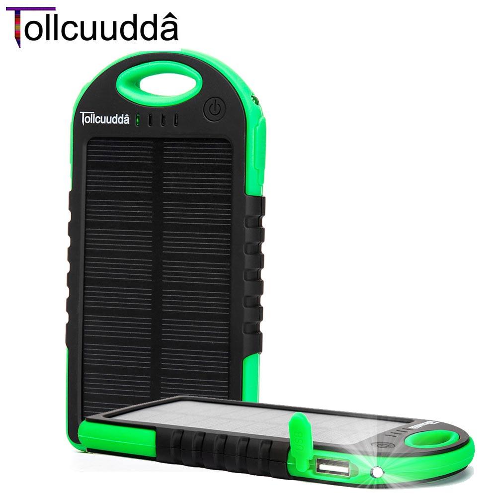 Tollcuudda pover banco de la energía del teléfono para xiaomi powerbank 5000 mah