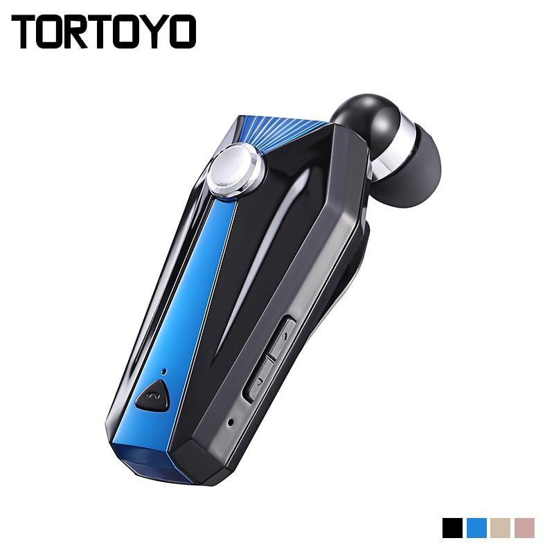 TORTOYO K10 In Ear Sports Drive Business Smart Bluetooth Wireless Earphone Super Bass Earbud Handsfree for iPhone Xiaomi Huawei