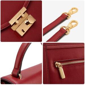 Image 5 - ラ festin 高級デザイナーハンドバッグ 2018 新牛革ハンドバッグショルダーバッグメッセンジャーバッグ女性ボルサの feminina