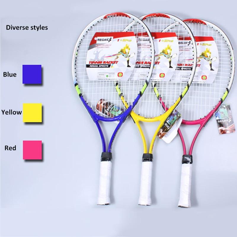 Ausdrucksvoll 1 Stücke Hohe Qualität Neue Junior Tennis Schläger Raquette Ausbildung Schläger Für Kinder Jugend Kinder Tennis Schläger Mit Trage Tasche Heißer Chinesische Aromen Besitzen
