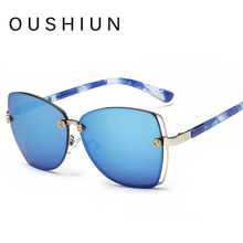 2017 Nuevo HD gafas de Sol de Mujer de Marca Diseñador gafas de sol mujer color de la Galjanoplastia lente lunette de soleil femme gafas de sol de moda gafas