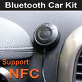 New NFC Bluetooth 4.0 Handsfree Car Kit Speakerphone for iPhone For Samsung fit Lots of Mobile cell phone, can Pair by NFC