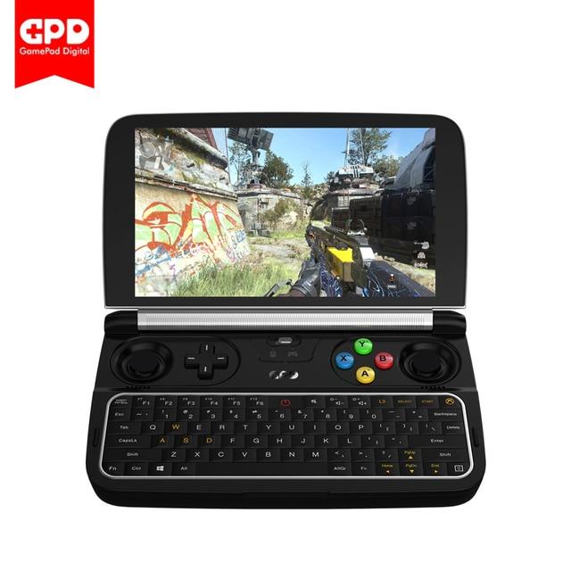 "New GPD WIN2  6"" Handheld Gaming Laptop m3-7Y30 Windows 10 System 8GB RAM 256GB ROM WIN 2Pocket Mini PC Laptop free shipping"