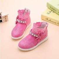 Girls Dance Shoes Spring 2016 Lace Hollow Out Shoes Hot Style Children S Fashion Sweet Princess