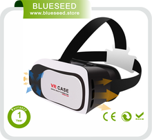 2016 virtual reality simulator 3d cardboard vr glasses headset