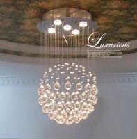 T роскошные современные кристалл Ceilling Свет Высокое качество Лампы для мотоциклов Для Гостиная коридоре проход зал светодиодные лампы в ком