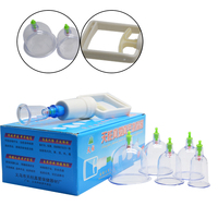 12Pcs 2Boxes Device Acupuncture Suction Cup Set Massage Magnetic Therapy Vacuum Tank Gas Cylinders Cupping Of