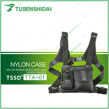 Good Qulity Two Way Radio Shoulder Chest Bag TTA-01(For One Walkie Talkie)