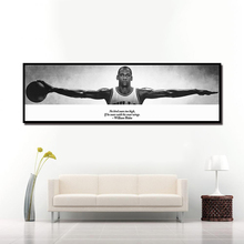 Wall Art Canvas Picture For Living Room Bedside Home Decor Michael Jordan Sports Basketball Star Poster HD Print Painting