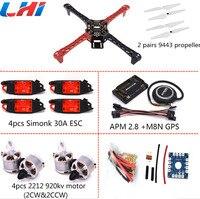 F450 Quadcopter Rack Kit Frame W MINI KK2 15 920KV MOTOR 30A SIMONK ESC F4MK1