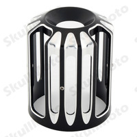 Motorcycle Parts Bike Black CNC Aluminum Cut Oil Filter Cover For Harley Touring Softail Dyna CVO Fatboy FXSB UNDEFINED