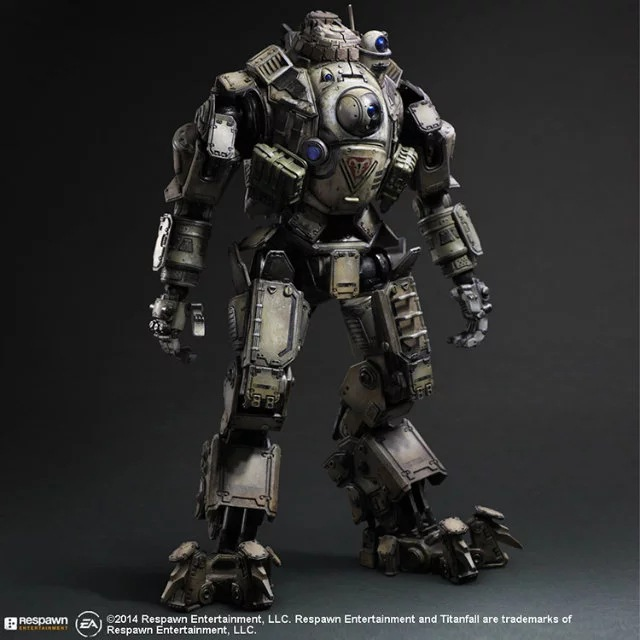 Titan Fall 26CM Atlas Joints Moveable Action Figure Model Toys