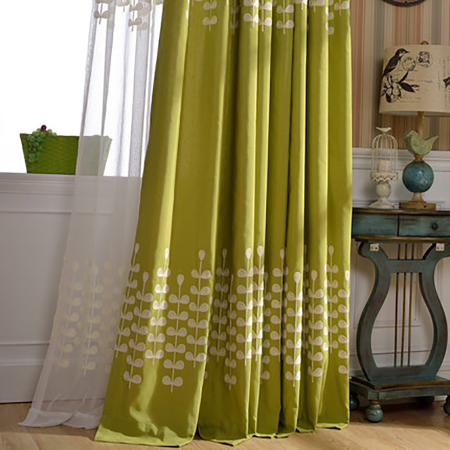 Huayin Velvet Linen Curtains Tulle Window Curtain For: Fabric White Linen Printed Curtains Sheer Tulle Window