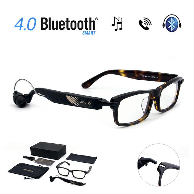 WP Gafas Digitales Auriculares Inalámbricos Bluetooth 4.0 Auriculares de Música Deportes de Equitación de Conducción gafas de Sol Auriculares