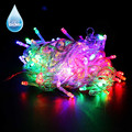 10M 80 LED String Light 3*AA Battery Operated Garland Christmas Tree Lights Outdoor LED String Fairy Lights Wedding Decoration