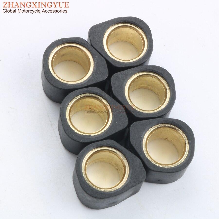 Performance Variator Roller Weights 13gram 20x15mm for SUZUKI Burgman 125 K2-K6 K7-L1 Uc Epicuro X - K1 125 Ux Sixteen K8 150