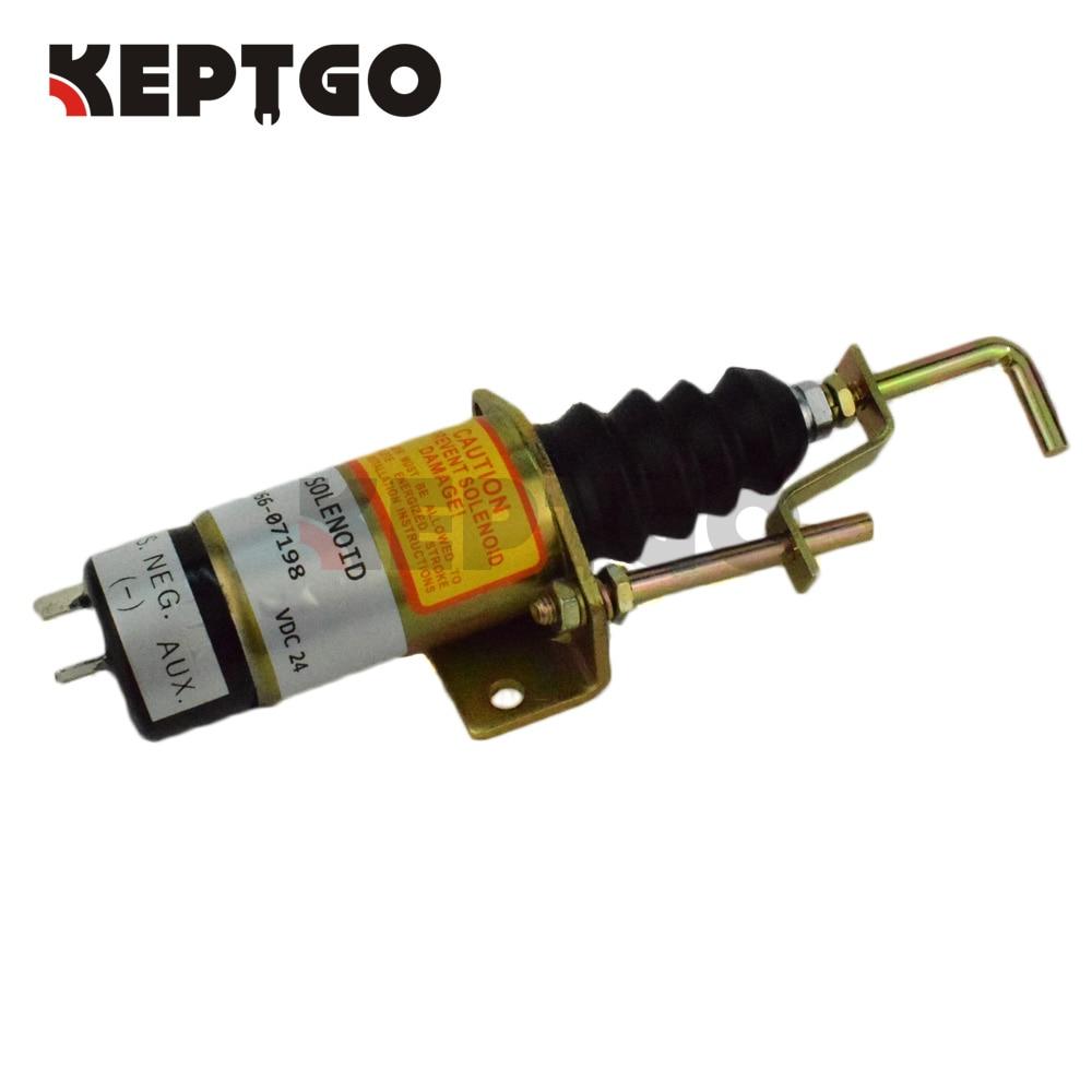 24V Fuel Shutoff Solenoid For Lister Petter 1502-24C7U2B2S1 366-07200 aurén petter wilhelm risto rytkönen