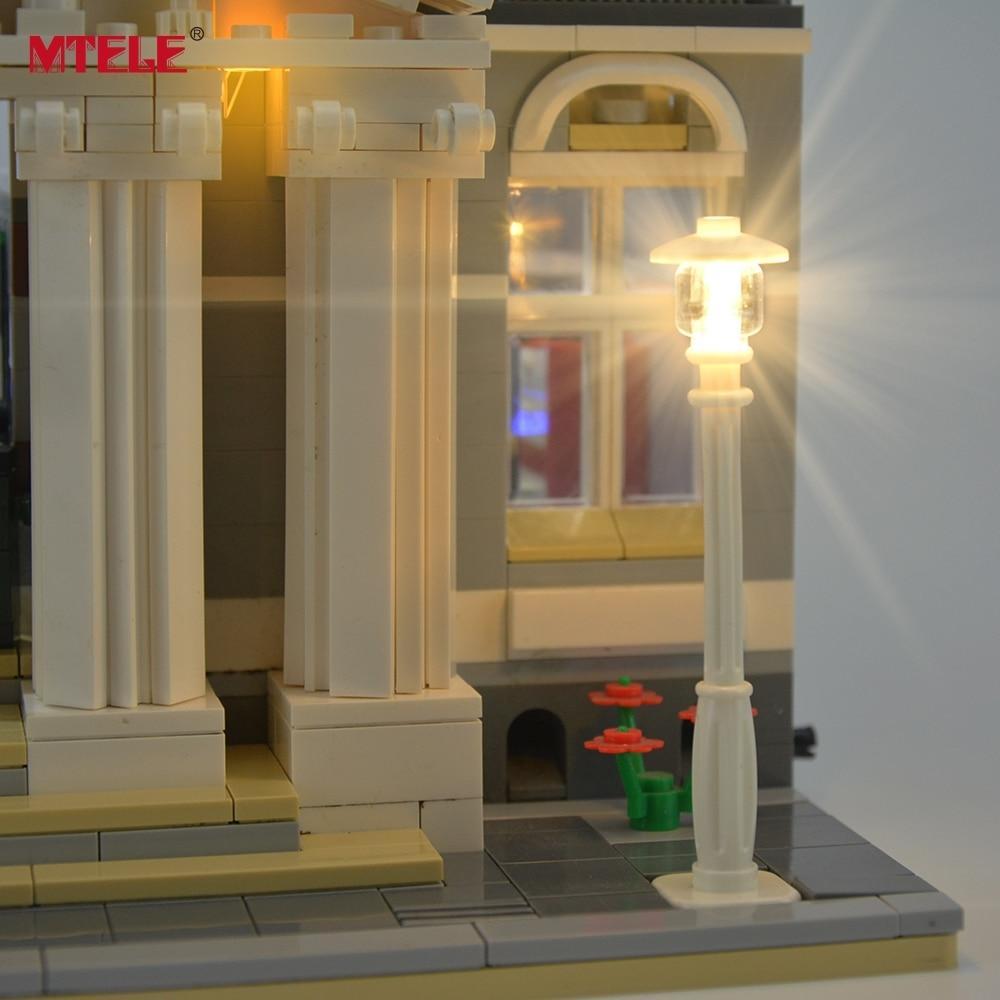 Yaradıcılar üçün MTELE markalı LED işıqlandırma dəsti - Uşaq konstruktorları - Fotoqrafiya 2