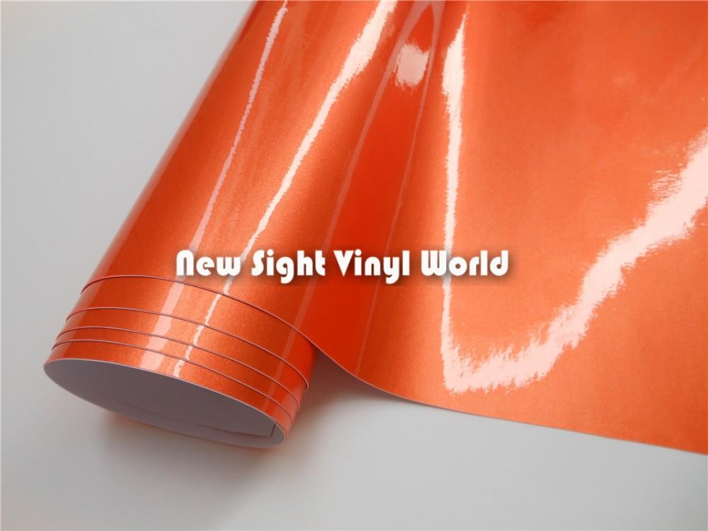 Metallic-Orange-Glossy-Vinyl-Wrap-13