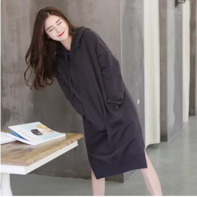 Nueva moda otoño invierno ropa de maternidad Embarazadas mujeres chaqueta con capucha prendas de vestir exteriores de ropa de maternidad suelta