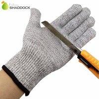 Бесплатная размеры серый мягкий анти вырезать перчатки для рыбалки дышащий порезостойкие прочные нескользящие защитные перчатки для рыба...