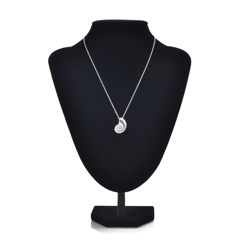 ᐂYiustar 10 unids/lote mar Conchas collar Ariel voz Conchas collar ...
