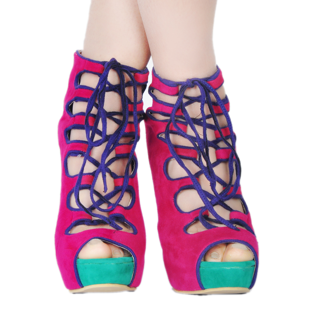 Femmes À Sandales Chaussures Nous Mince Initiale Rouge 4 Ouvert Talons Nouveau Femme Élégant L'intention Haute Taille Mode 15 Ef0937 Plus Style Bout ONnwkXZP80
