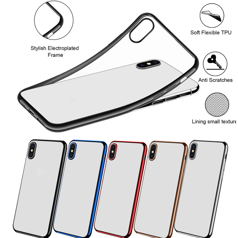 Soft TPU Clear Case Cover For IPhone XR/XS/XS Max Luxury Ultra Slim Shockproof Clear Back Case Cover Good Quality Best Price A20