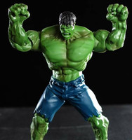 Red and Green Hulk Action Figures Collectible 10inch 6