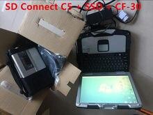 Mb estrela c5 sd conectar c5 ferramenta de diagnóstico com versão de software 03/2021 dts x dsa vediam wis com portátil CF-30