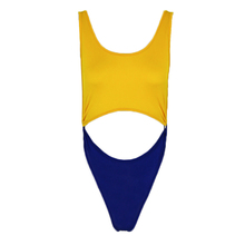 Women Bikini Halter Monokini Hollow Cut Swimsuit