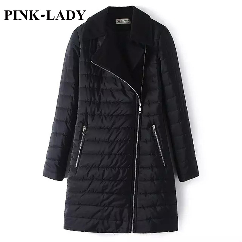 Women Parka Thick Warm Cotton Padded Black Mid Long Winter Quilted Jacket Coat Snow Wear Female