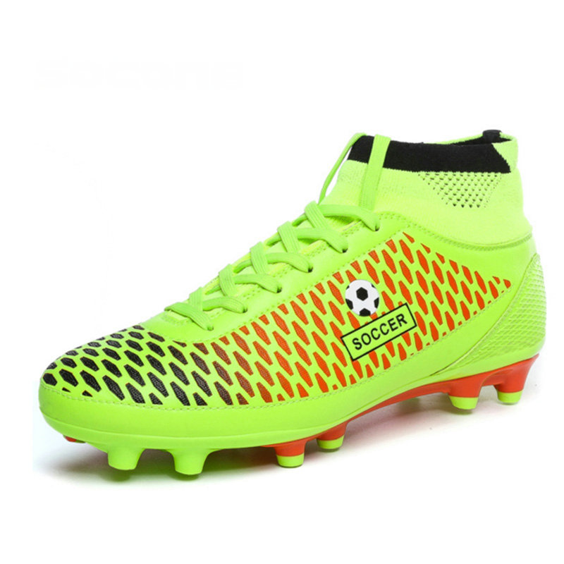 Mens Soccer Boots Cleats Long Spikes FG Men Football Boots Outdoor Training Soccer Shoes Chuteira Futebol Nice Football Shoes