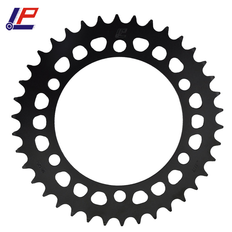 LOPOR For KAWASAKI W650 99-06 ZR-7 99-03 ZR750 91-97 ZR-7S 01-03 ZX-6R ZX6R 95-97 chain 525 <font><b>38T</b></font> Motorcycle Rear <font><b>Sprocket</b></font> image