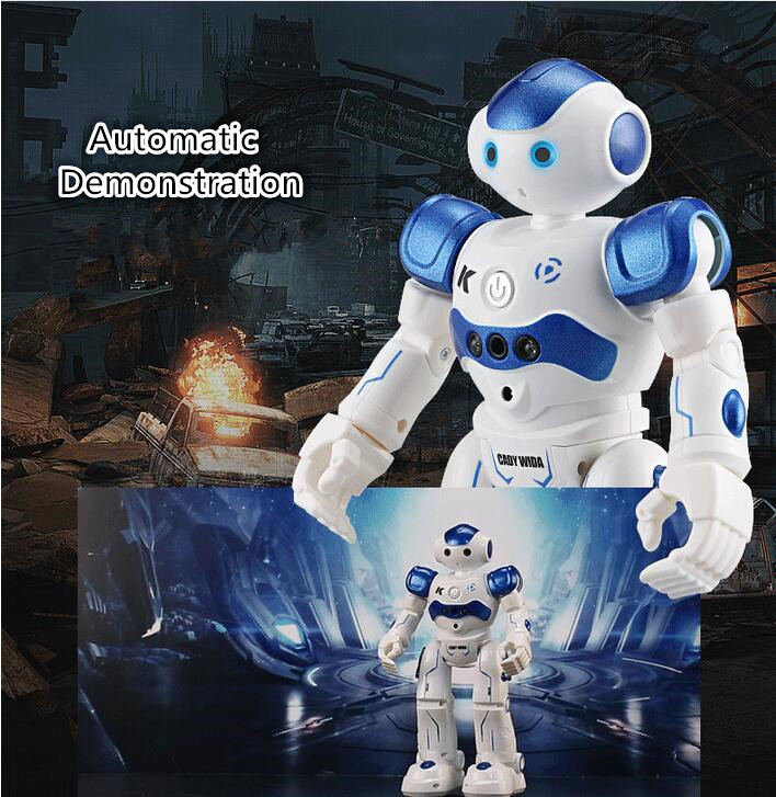 education toy rc robot toy 917 can Walk Dance Intelligent remote control robot with multifunctional Infrared gesture sensor gift  infrared remote control tarantula with light trick toy