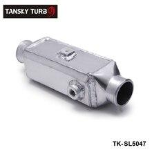 Tansky-universal peso ligero de aluminio Bar y placa Turbo de montaje frontal de agua a aire Intercooler TK-SL5047