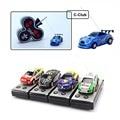 New 1/64 Radio Remote Control Coke Can Micro Car Rc Poker 4WD 4CH Electric carrinho de controle Mini Car Small Car Toys For Boys