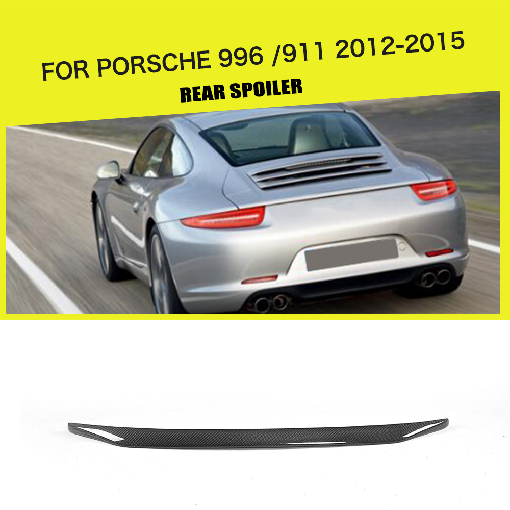 Carbon Fiber Rear Spoiler Window Wing for Porsche 991 2012-2015 Car Styling