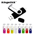 Kingstick 2016 Colorful whirling OTG Usb Flash Drive 8G/16G/32G/64G Usb 2.0 Memory Stick Pen Drive Pendrive freeshipping