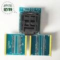 Frete grátis Universal IC Soquete Adaptador LQFP TQFP QFP 32 a DIP 28 e Adaptadores para ATMEL AVR TQFP32 to DIP32 IC fichas