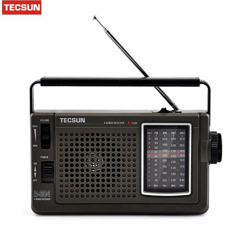 Schneidig Tecsun R-304 R-304p Tragbare Hohe Empfindlichkeit Fm Kurzwellen Radio Fm Radio Mw/sw Radio Receiver Mit Eingebauten Lautsprecher Tragbares Audio & Video