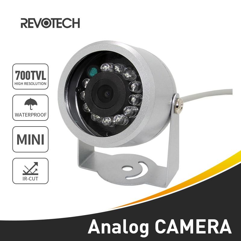 """bilder für 1/4 """"CMOS 700TVL Wasserdichte 12LED IR Nachtsicht Sicherheit Video Kamera Im Freien Cctv-kamera Mini Analog Cam"""