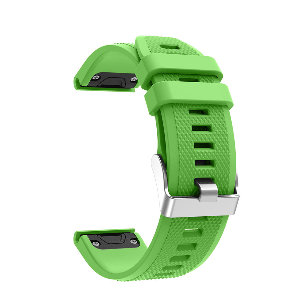 12 Colors Soft Silicone Replacement Wristband Watch Band Bracelet Strap For Garmin Fenix 5 For Smart Watch 22mm Wristband Strap in Smart Accessories from Consumer Electronics