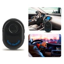 2017 Nuevo Coche Auto Sin Hilos Del Bluetooth 3.5 MM Receptor AUX Adaptador Manos Libres de Audio Estéreo Receptor de Música Envío de La Gota