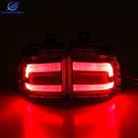Chuangxiang Front Fog Light Fog Lamp Rear LED Fog Lamp For Toyota Land Cruiser 200 V8 LC200 Accessories 2016
