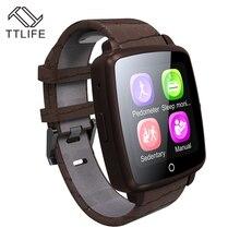 2016 TTLIFE Marke Armbanduhr Bluetooth Smart Uhr Sport Pedometer Mit SIM Kamera Smartwatch Für Android Smartphone Russland T50